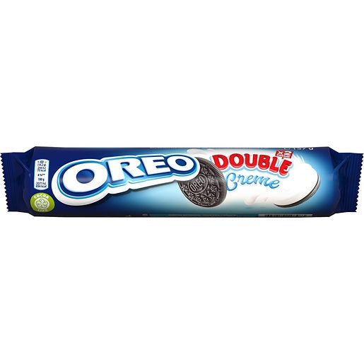 Oreo Double Cream - 157 GR, 11 biscuits
