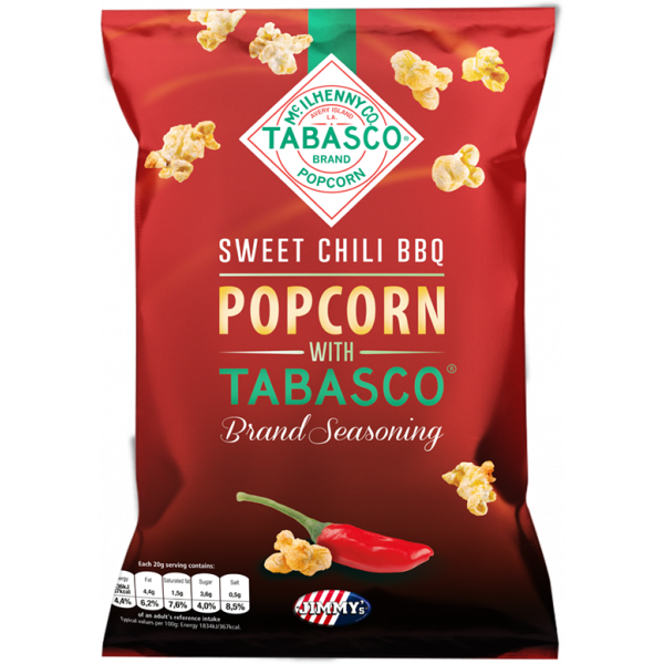 JIMMY's Tabasco Popcorn - Sweet Chili BBQ