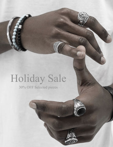 Men's jewelry/ Nixir/ London/ Holiday season/ Happy New year/ Handmade jewelry