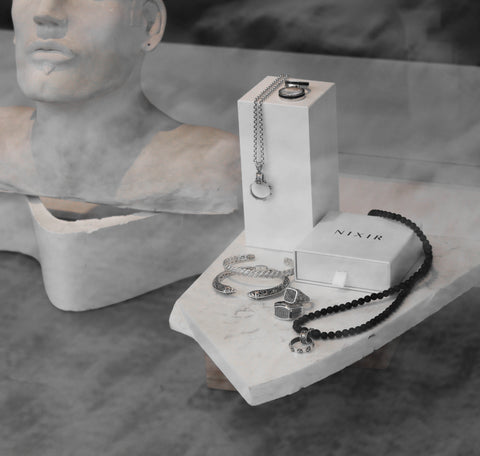 Nixir/ Men's collection/ Sterling silver jewelry/ Men's jewelry