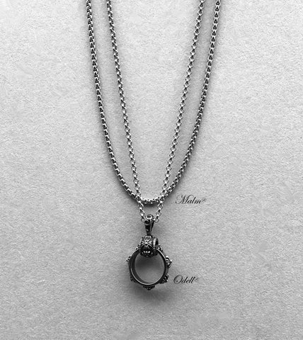 Nixir/ Silver necklace/ Mens jewelry