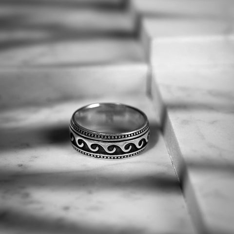 Nixir/ Sterling silver/ Jewelry/ Men's ring/ Handmade jewelry