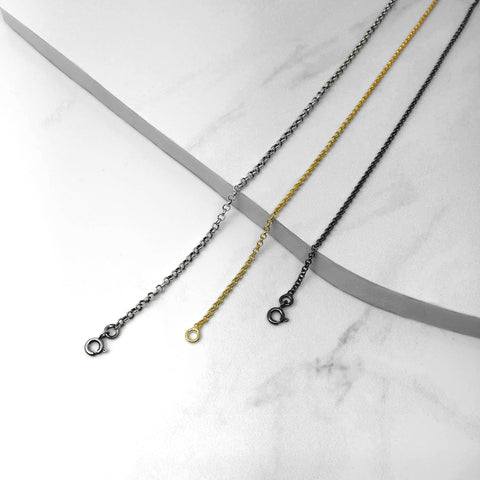 Men's chain/ Silver chain/ Gold chain/ Black chain/ Men's jewelry/ handmade jewelry