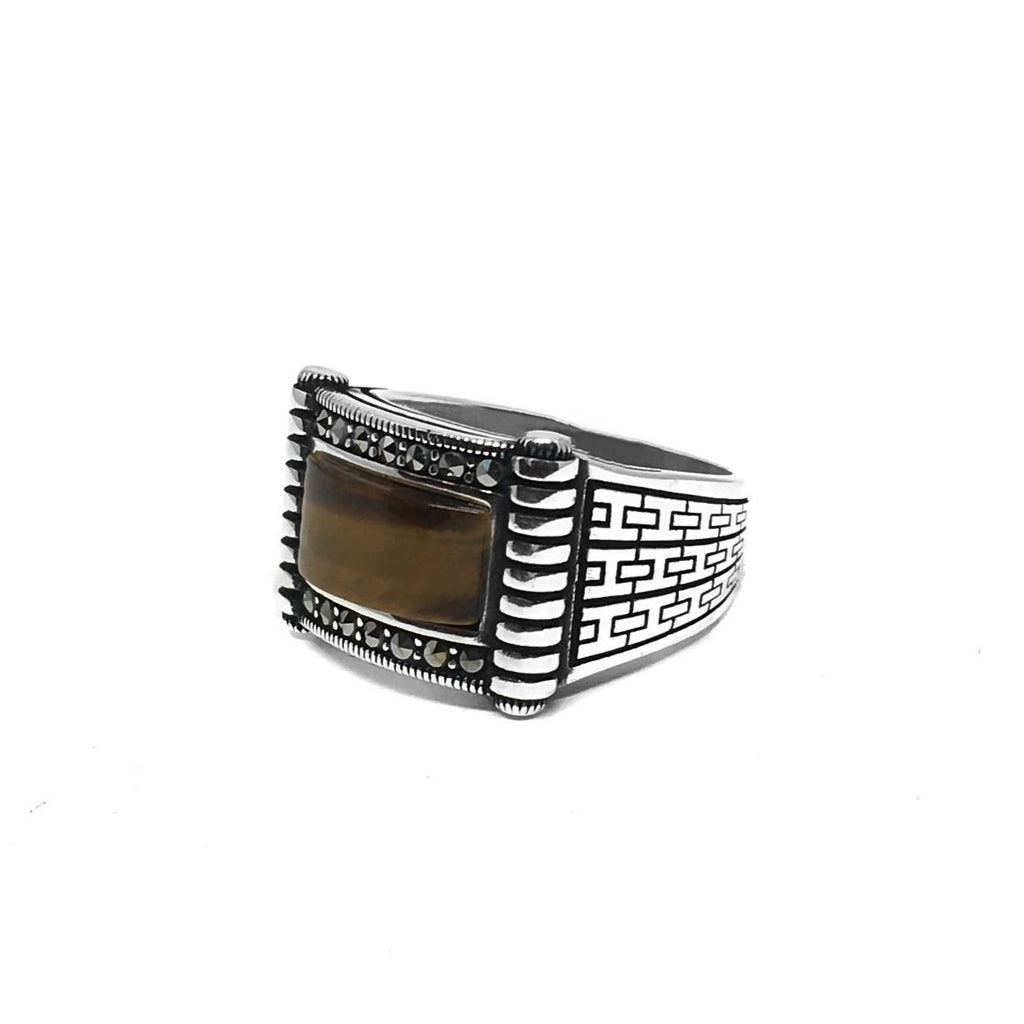 Mens jewelry/ Nixir/ Silver ring/ London/ Jewelry designer/ Handmade jewelry