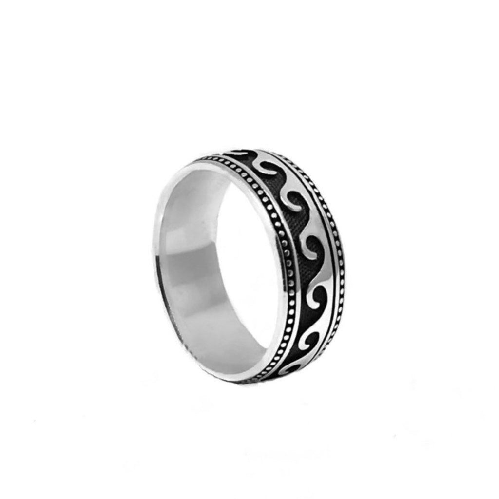 Nixir/ Men's jewelry/ Silver jewelry/ Men's band/ Silver handmade/ Men's ring/ London