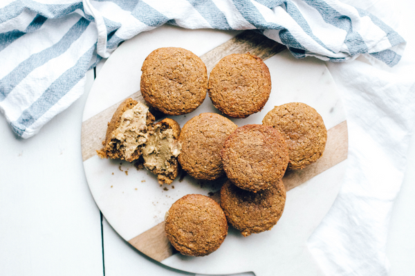 Sprouted, Gluten-Free Chickpea Flour Muffins
