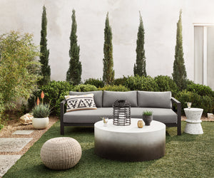 "Sonoma Outdoor Sofa 88"" (Bronze/Charcoal)"
