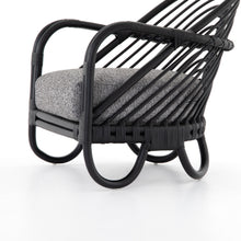 Load image into Gallery viewer, Marina Chair (Ebony Rattan Lago Graphite)