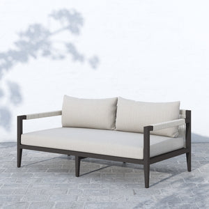 "Sherwood Outdoor Sofa 63"" (Bronze/Sand)"