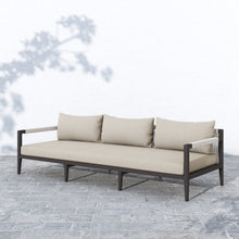"Load image into Gallery viewer, Sherwood Outdoor Sofa 93"" (Bronze/Sand)"
