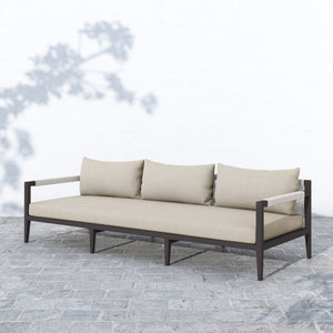 "Sherwood Outdoor Sofa 93"" (Bronze/Sand)"