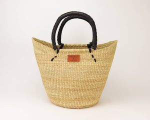Kandiga Shopper Bag Basket - Black Handle