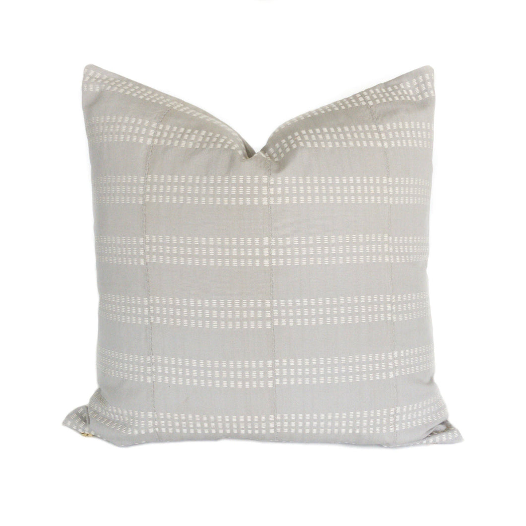 H&L Collection No. 2 - Gray Pillow Cover