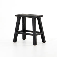 Load image into Gallery viewer, Hattie Rectangular Accent Stool (Black)