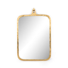 Load image into Gallery viewer, Hyde Large Mirror (Gold Leaf)