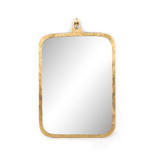 Hyde Large Mirror (Gold Leaf)