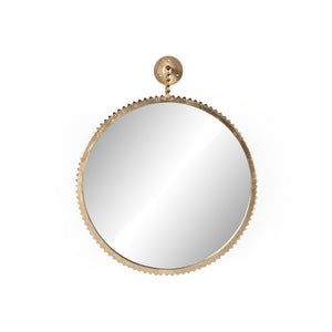 Cru Large Mirror (Aged Gold)