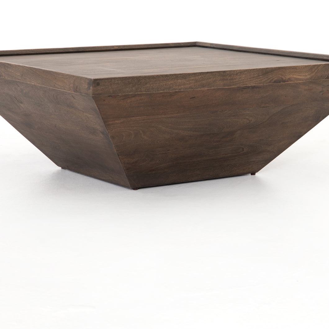 Drake Coffee Table (Aged Brown)