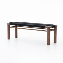 Load image into Gallery viewer, Shona Bench (Matte Black)