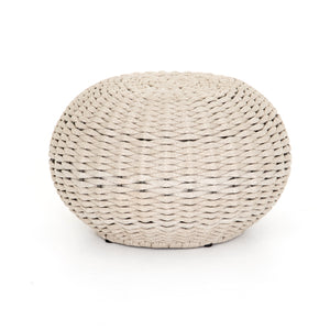 Phoenix Outdoor Accent Stool (Natural Rope)