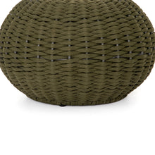 Load image into Gallery viewer, Phoenix Outdoor Accent Stool (Olive Rope)
