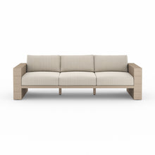 "Load image into Gallery viewer, Leroy Outdoor Sofa 96"" (Brown/Faye Sand)"