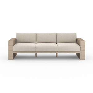 "Leroy Outdoor Sofa 96"" (Brown/Faye Sand)"