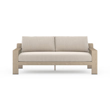 "Load image into Gallery viewer, Monterey Outdoor Sofa 74"" (Brown/Faye San)"