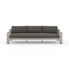 "Load image into Gallery viewer, Monterey Outdoor Sofa 106"" (Grey/Charcoal)"