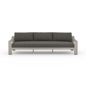 "Monterey Outdoor Sofa 106"" (Grey/Charcoal)"