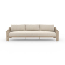 "Load image into Gallery viewer, Monterey Outdoor Sofa 106"" (Brown/Sand)"