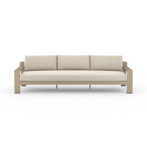 "Monterey Outdoor Sofa 106"" (Brown/Sand)"