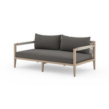 "Load image into Gallery viewer, Sherwood Outdoor Sofa 63"" (Brown/Charcoal)"