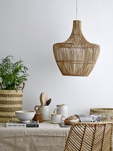 Seagrass & Palm Baskets with Handles