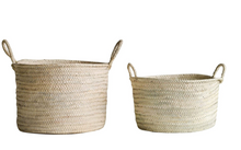 Load image into Gallery viewer, Hand-Woven Moroccan basket
