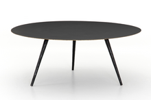 Load image into Gallery viewer, Trula Round Coffee Table Rubbed Black