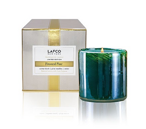 Lafco Frosted Pine Holiday 6.5 oz Candle