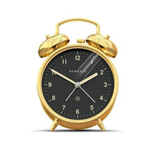 Load image into Gallery viewer, Charlie Bell Alarm Clock (Brass)