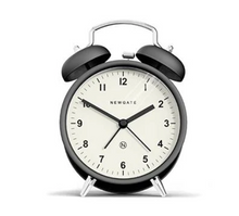 Load image into Gallery viewer, Charlie Bell Alarm Clock (Matte Black)