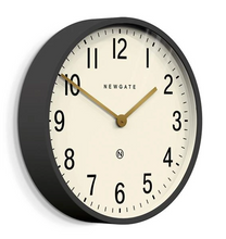Load image into Gallery viewer, Mr Edwards Large Grey Wall Clock with White Face