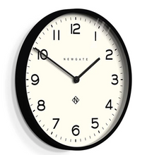 Load image into Gallery viewer, Number One Clock Black