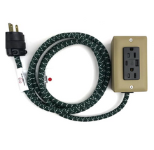 Load image into Gallery viewer, TYPE C® EXTENSION CORD - 8' EXTŌ DUAL USB PORT, DUAL-OUTLET POWER CORD