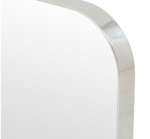 "Load image into Gallery viewer, Bellvue Square Mirror- 24""x24"" (Various Finishes)"