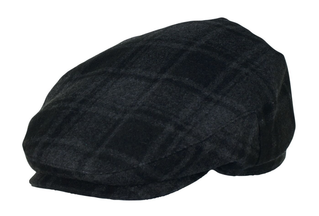 Mens Plaid Driver Cap