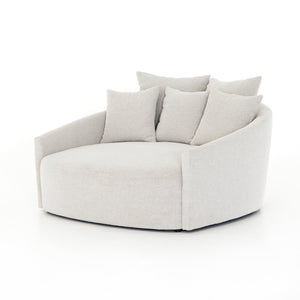 Chloe Media Lounger (Delta Bisque)