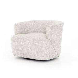 Mila Swivel Chair (Brazos Dove)