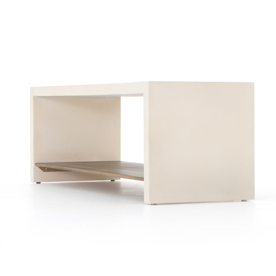 Hugo Bench (Parchment White)