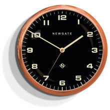 Load image into Gallery viewer, Chrysler Wall Clock Copper with Black Face