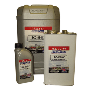 Hallett Compound Cylinder Oils