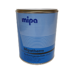 Mipatherm Heat Resistant Paint Black 750ml